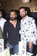 Sunil Shetty, Rahul Mahajan at Claudia Ciesla