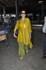 Hema Malini snapped at airport in Mumbai on 2nd June 2016