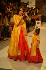 Anita Hassanandani on ramp for Kids fashion week on 3rd June 2016 (8)_5752d2dd94c0f.JPG