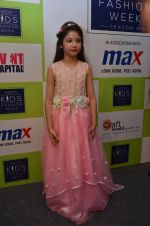 Harshaali Malhotra on ramp for Kids fashion week on 3rd June 2016 (89)_5752d30ae12de.JPG