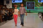 Model on ramp for Kids fashion week on 3rd June 2016