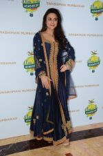 Preity Zinta at Swabhiman Mumbaikar event to honour Padmabhushan winners on 3rd June 2016