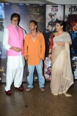 Vidya Balan, Amitabh Bachchan, Sujoy Ghosh at the promotion of Te3n on 3rd June 2016 (59)_5752e4af388bf.JPG