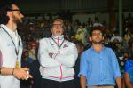 Amitabh Bachchan at celebrity soccer match in Mumbai on 4th June 2016