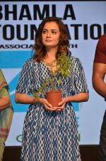 Dia Mirza at Asif Bhamla foundation event on world environment day in Mumbai on 5th June 2016