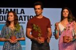 Dia Mirza, Sonu Sood, Pooja Batra at Asif Bhamla foundation event on world environment day in Mumbai on 5th June 2016