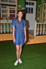 Kajal Aggarwal on the stets of Kapil Sharma Show on 5th June 2016