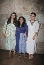 Sonam Kapoor, Ashwiny Iyer Tiwari, Swara Bhaskar at Nil Battey Sannata screening on 5th June 2016 (20)_57551fe386e61.JPG