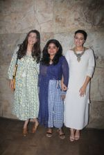 Sonam Kapoor, Ashwiny Iyer Tiwari, Swara Bhaskar at Nil Battey Sannata screening on 5th June 2016