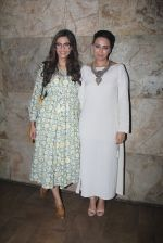 Sonam Kapoor, Swara Bhaskar at Nil Battey Sannata screening on 5th June 2016