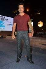 Sonu Sood at Asif Bhamla foundation event on world environment day in Mumbai on 5th June 2016 (77)_57551a76b73d0.JPG