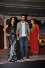 Maheck Chahal, Vivek Dahiya, Mona Singh at Kawach...Kaali Shaktiyon Se press conference on 6th June 2016