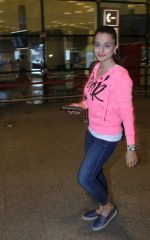 Ameesha Patel at airport on 7th June 2016