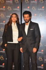 Anil Kapoor, Sonam Kapoor at 24 show press meet in Mumbai on 8th June 2016