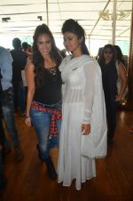 Mouni Roy, Lauren at Lauren Gottlieb organizes Leap for Hunger charity event on 8th June 2016