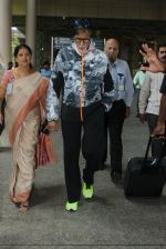 Amitabh Bachchan snapped at airport on 9th June 2016