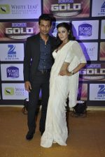Barkha Bisht, Indraneil Sengupta at ZEE Gold Awards on 9th June 2016