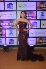 Gauhar Khan at ZEE Gold Awards on 9th June 2016