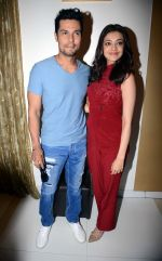 Kajal Aggarwal and Randeep Hooda promote Do Lafzon Ki Kahani in Delhi on 9th June 2016