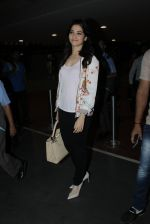 Tamannaah Bhatia snapped at airport on 9th June 2016