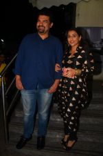 Vidya Balan, Siddharth Roy Kapoor at Te3n screenig on 9th June 2016 (12)_575a86c5186db.JPG
