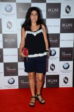 on the red carpet for Perina Qureshi