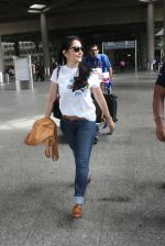 Manyata Dutt snapped at airport on 10th May 2016