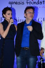 Dia Mirza and Roshan Abbas during the event organised by Genesis Foundation in Mumbai, India on June 11, 2016