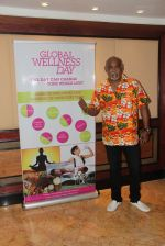 Former Indian cricket player Vinod Kambli during the Global Wellness Day celebration, in Mumbai, India on June 11, 2016