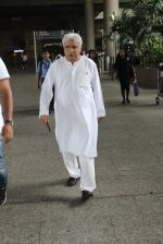 Javed Akhtar snapped at the Airport on June 11th 2016