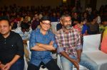 Nagraj Manjule, Sachin Pilgaonkar, Nitin Keni at Marathi Movie Sairat Success Party on 11th June 2016