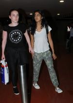 Navya Naveli Nanda snapped at the Airport on June 11th 2016