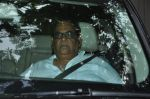 Satish Kaushik at Sattee Shourie Funeral on June 11th 2016