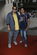 Shankar Ehsaan Loy at the Airport on June 11th 2016