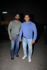 Suniel Shetty and Salman Khan snapped on 11th June 2016
