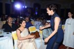Tisca Chopra, Dia Mirza during the event organised by Genesis Foundation in Mumbai, India on June 11, 2016