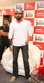 Rana Daggubati during the Meet and Greet contest conducted by Reliance Trends at Forum Sujana Mall Kukatpally on 12th June 2016
