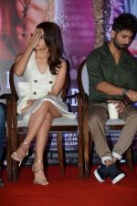 Alia Bhatt, Shahid Kapoor at the Press Conference of Udta Punjab in J W Marriott on 14th June 2016