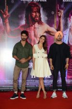 Alia Bhatt, Shahid Kapoor, Diljit Dosanjh at the Press Conference of Udta Punjab in J W Marriott on 14th June 2016