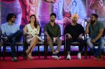 Alia Bhatt, Shahid Kapoor, Diljit Dosanjh, Anurag Kashyap at the Press Conference of Udta Punjab in J W Marriott on 14th June 2016 (72)_576044d2ca382.JPG