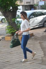 Sagarika Ghatge snapped outside a spa in juhu on 14th June 2016
