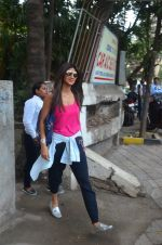 Shilpa Shetty snapped outside a spa in juhu on 14th June 2016