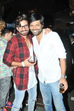 Anand Mishra with Vishal Singh at Sana Khan