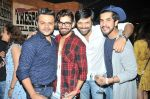 Gaurav Parikh, Vishal Singh, Anand Mishra and Suyyash Rai at Sana Khan