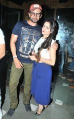 Jay Bhanushali and Mahi Vij at Sana Khan