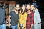 Kishwar Merchant, Vishal Singh and Suyyash Rai at Sana Khan
