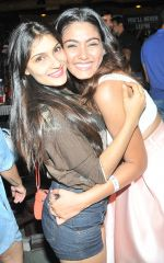 Sana Khan with Friend at Sana Khan