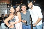 Sana Khan with Ken Ghosh and Anand Mishra at Sana Khan