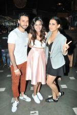 Sana Khan with friends at Sana Khan