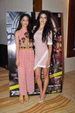 Sandeepa Dhar, Natasa Stankovic at the screening of 7 Hours To Go on 14th June 2016